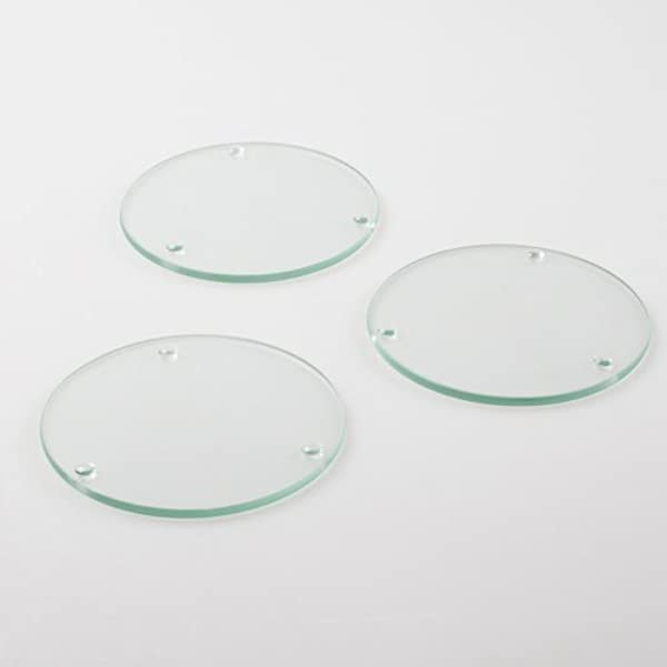 Eastland Round Glass Coaster 4 Set Of 144