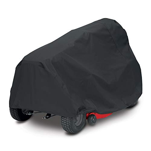 AmazonBasics Black Riding Mower Cover - Large, Black