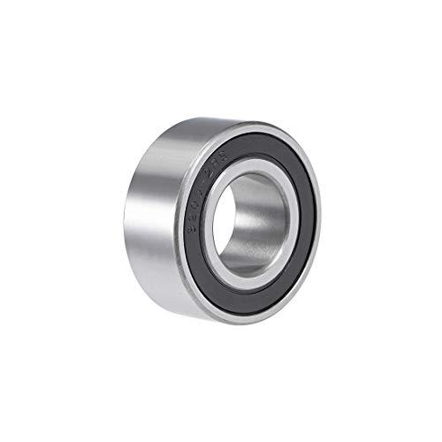 uxcell 3205-2RS Angular Contact Ball Bearing 25x52x20.6mm Sealed Bearings 5205-2RS