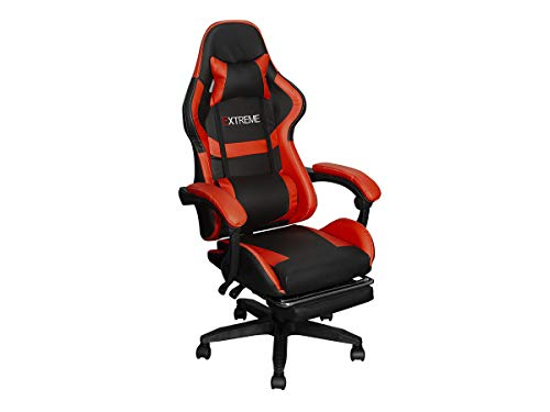 Cadeira Gamer Extreme Youtuber Premium - Vermelha