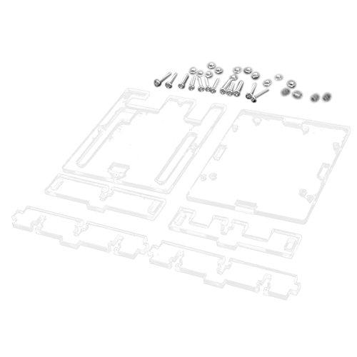 Arduino UNO R3 Abdeckung - SODIAL(R)Fall Gehaeuse Aus Transparentem Acrylkasten Durchsichtige Abdeckung fuer Arduino UNO R3