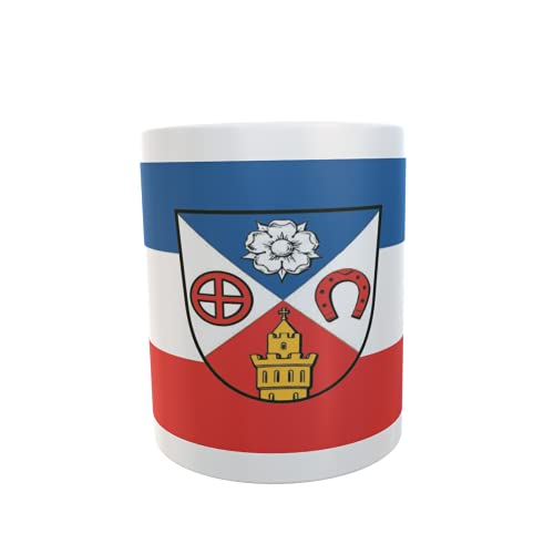 U24 Tasse Kaffeebecher Mug Cup Flagge Friedrichsdorf (Taunus)