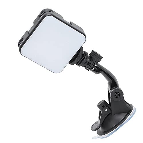 SALUTUY Luz De Relleno W64, Luz De Relleno Ajustable W64 Resistencia Fuerte con Clip Extraíble Sólido Mejorado para Teléfonos Móviles Computadoras De Escritorio Computadoras Portátiles, Tabletas