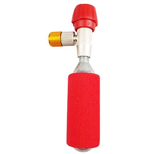 Lopbinte - Inflador de co2 para bicicleta (boquilla inflable, portátil, sin cilindro de gas)