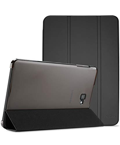 ProCase Old Model Galaxy Tab A 10.1 Case SM-T580 T585 T587, Slim Lightweight Stand Shell Smart Cover for Old 10.1 Inch Galaxy Tab A Tablet 2016 Model –Black