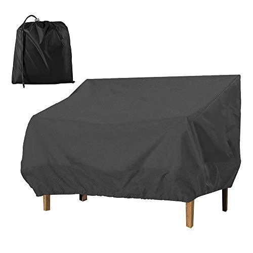 Relax love Funda para sofá de jardín, Impermeable, a Prueba de Polvo, protección UV, para Exteriores, Patio, salón, Banco Loveseat 210D