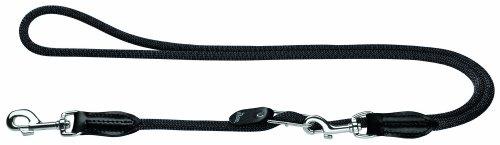 HUNTER Freestyle Vario-Leine, verstellbare Führleine für Hunde, robust, wetterfest, 1,0/260 cm, schwarz