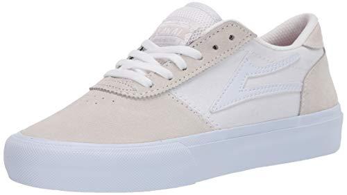 Lakai Limited Footwear Mens Herren Manchester, Weißes Wildleder, 38.5 EU