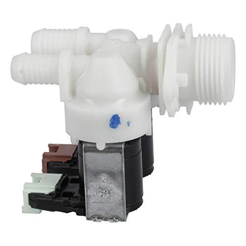 Magnetventil Einlaufventil Füllventil Ventil 2fach 180° 11,5mm+14,0mmØ Waschmaschine Alternativ Electrolux AEG 1325186110 132518611 Curtiss Zanussi Bluesky Far Carma Selecline Privileg Zanker Silentic