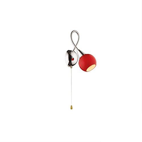 val4dl06529ap1/176 – éclairage pour intérieur – Lampe Murale Applique – Monture Chrome Bras flexibles – Diffuseur Verre soufflé colorés – sopsensioni – lustres – proposé par Valastro Lighting