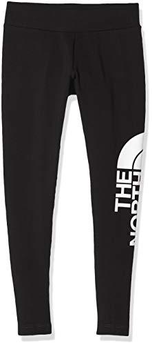 The North Face G Cot Bl Leg Leggings, Unisex Bambini, Nero (Black/White), XL