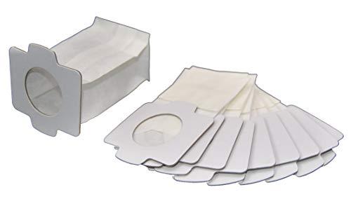 10 Staubsaugerbeutel Staubbeutel geeignet für Makita 194566-1 Akku Staubsauger DCL140Z, DCL142Z, CL102DZX, CL104DWYX, DCL182ZB LeaBen®