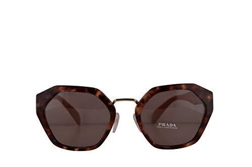 Prada PR04TS gafas de sol w/Purple Brown 55mm lente UE06X1 SPR04T PR 04TS SPR 04T mujer rosa La Habana Grande