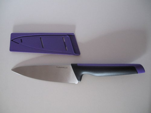 TUPPERWARE D190 Coltello Coltelli Xpert Ergonomico Serie universale Lilla Cottura