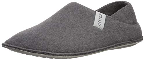 Crocs Classic Convertible Slipper, Zapatillas Altas Unisex Adulto, Gris (Charcoal/Pearl White 01r), 42/43 EU