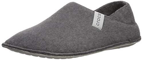 Crocs Classic Convertible Slipper, Zapatillas Altas Unisex Adulto, Gris (Charcoal/Pearl White 01r), 42/43 EU