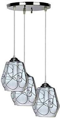 GoldStar 12W Ceiling Lamp, Multicolour, Round