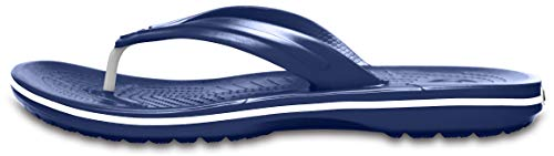 Crocs Unisex Crocband Flip, Navy, 39/40 EU
