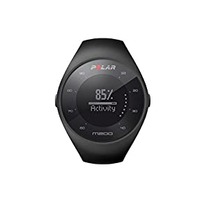 Polar M200 GPS Running Watch with Wrist-Based Heart Rate, Black