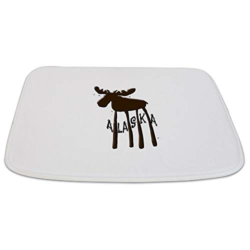 Alaska Moose Decorative Bathmat