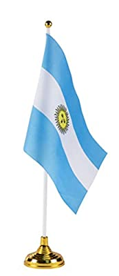 Juvale Country Flags - Mini Flags for Indoor and Outdoor Decoration Display