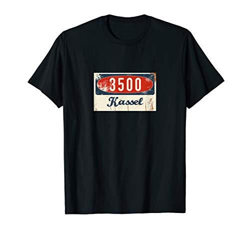 3500 Kassel - Alte Postleitzahl - Geschenk T-Shirt