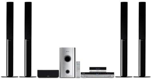 Pioneer RCS 606 H Heimkino-System mit DVD- und Festplatten-Rekorder 160 GB Silber