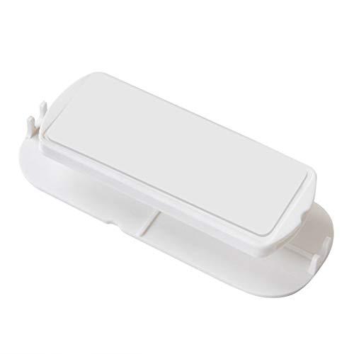 N/A. Soporte para enchufe de pared para el hogar, para colocar en la pared, ideal para colocar en la pared, ideal para guardar el hogar o como accesorio de pegatinas, difícil de caer