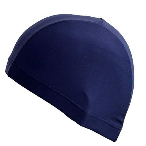 Nieuwe 2019 elastische waterdichte oren beschermen lang haar Sport zwemmen zwembad hoed badmuts gratis grootte voor mannen & vrouwen volwassenenZj55