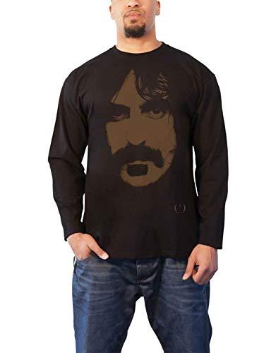Frank Zappa T Shirt Apostrophe Image Logo Nue offiziell Herren Schwarz