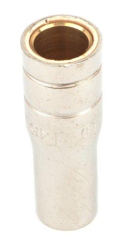 Forney 85330 MIG Welder Nozzle, Binzel Style, 1/2-Inch Bore