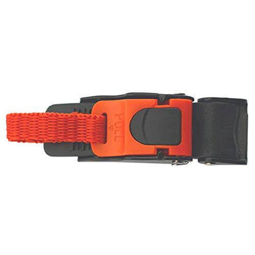 POHOVE - Hebilla para casco y correa de barbilla, universal, ajustable, accesorios...