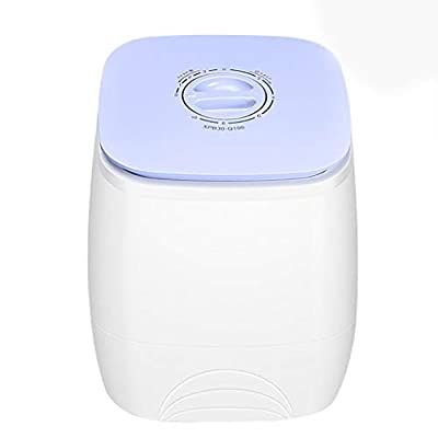 PIGE Mini Washing Machine, Household Single Barrel Children's Washer Silent Operation 3KG Washing Capacity Suitable For Baby Clothes To Be Cleaned Separately Apartment Travel Dormitories