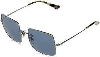Ray Ban Square 1971 Classic Ladies Blue Gradient Square Sunglasses