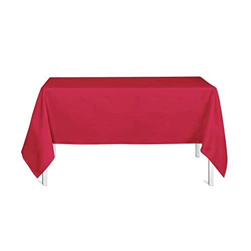 Today Nappe 150/250 Pomme d'Amour Polyester Rouge 150 x 250 cm