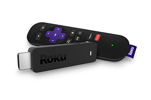 Roku Streaming Stick (3600R) | Portable HD Streaming Player, Quad-Core Processor, Dual-Band Wi-Fi (Renewed)