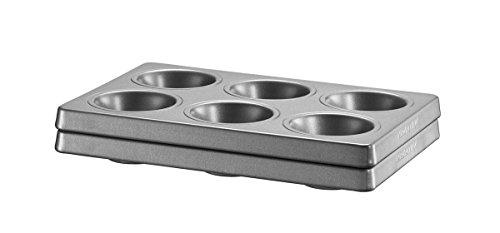 KitchenAid KBNSS06MF Set di 2 stampi per 6 muffin