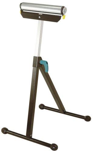 Wolfcraft 6119973 Rollenbock I Die praktische Verlängerung für Sägetische und Werkbänke