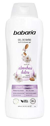 Babaria Gel de Baño con aceite de Almendras-  600 ml