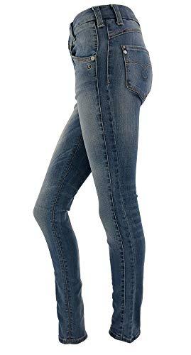 Sunnytrade Object Gereduceerde jeans voor dames, super slank, elegant, maar comfortabel, super slim, perfect voor elk evenement
