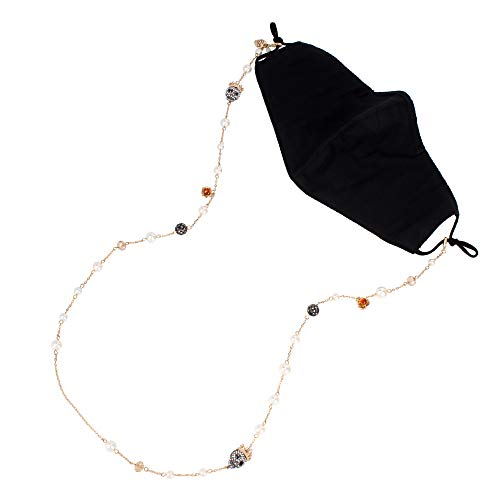Betsey Johnson Skull Mask Chain