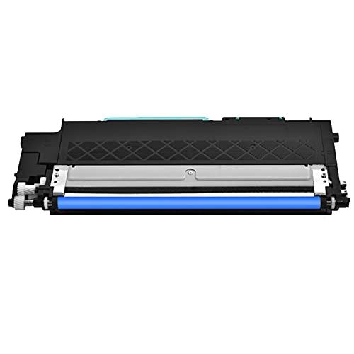 AXAX Merotoner - Tóner de repuesto para impresoras Samsung CLT404 (compatible con impresoras Samsung SL C430W, C430, C432W, C432, C433W, C480FW, C480 y C482), color cian