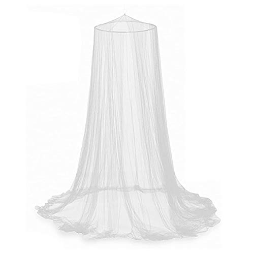 Bed Mosquito Net Canopy Netting Curtain Dome Fly Midges Insect Stopping...