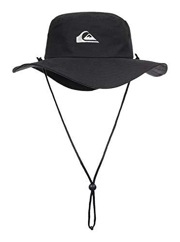 Quiksilver Bushmaster Chapeau Homme, Noir, FR : L (Taille Fabricant : L XL)