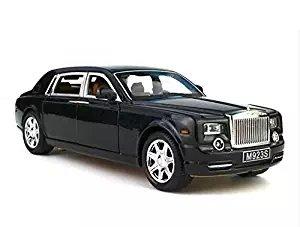 meilleur authentique 4f9b2 46123 Model car, Greshare 1:24 Rolls-Royce Phantom Diecast Sound & Light & Pull  Back Model Toy Car Black New in Box