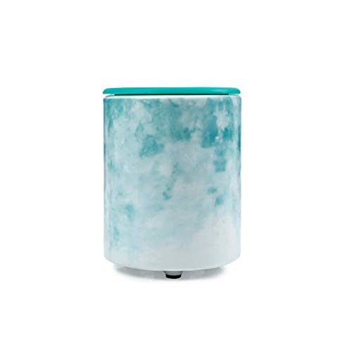 Happy Wax - Mini-Tabletop Wax Warmer in Watercolor for Scented Wax Melts - Electric Wax Melter with Patent-Pending Silicone Top and Micro USB Cable (AC Adapter not Included)