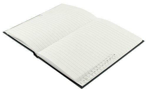 Q-Connect KF01064 - Cuaderno con índice, tamaño A5