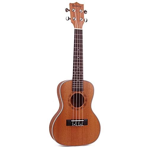 XYF 23 Zoll Ukuleleule Ukulele Kleine Gitarre Professionelle Ukulele Für Kinder Bundle Mit Gig Bag Ideal Für Schulen Und Anfänger (Color : Brown, Size : 23 inches)