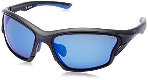 INVU Gafas de sol 2902 A mate Black Blue Int lentes intercambiables polarizadas