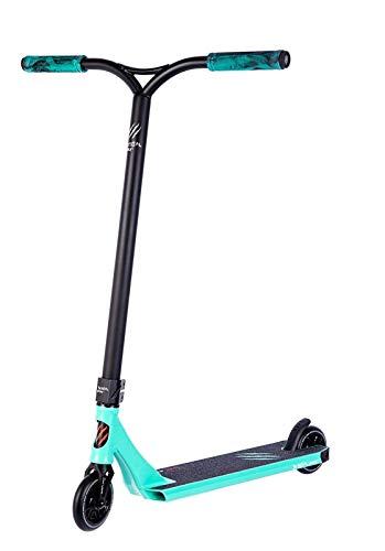 JSZHBC R12 Mint, Scooter Pro Freestyle, Professional, Color Deck Mint Green y Black Manillar Portátil (Color : Blue)
